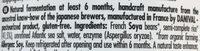 Bio Miso - Riz - Ingredients - en