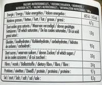 Bio Miso - Riz - Nutrition facts - fr