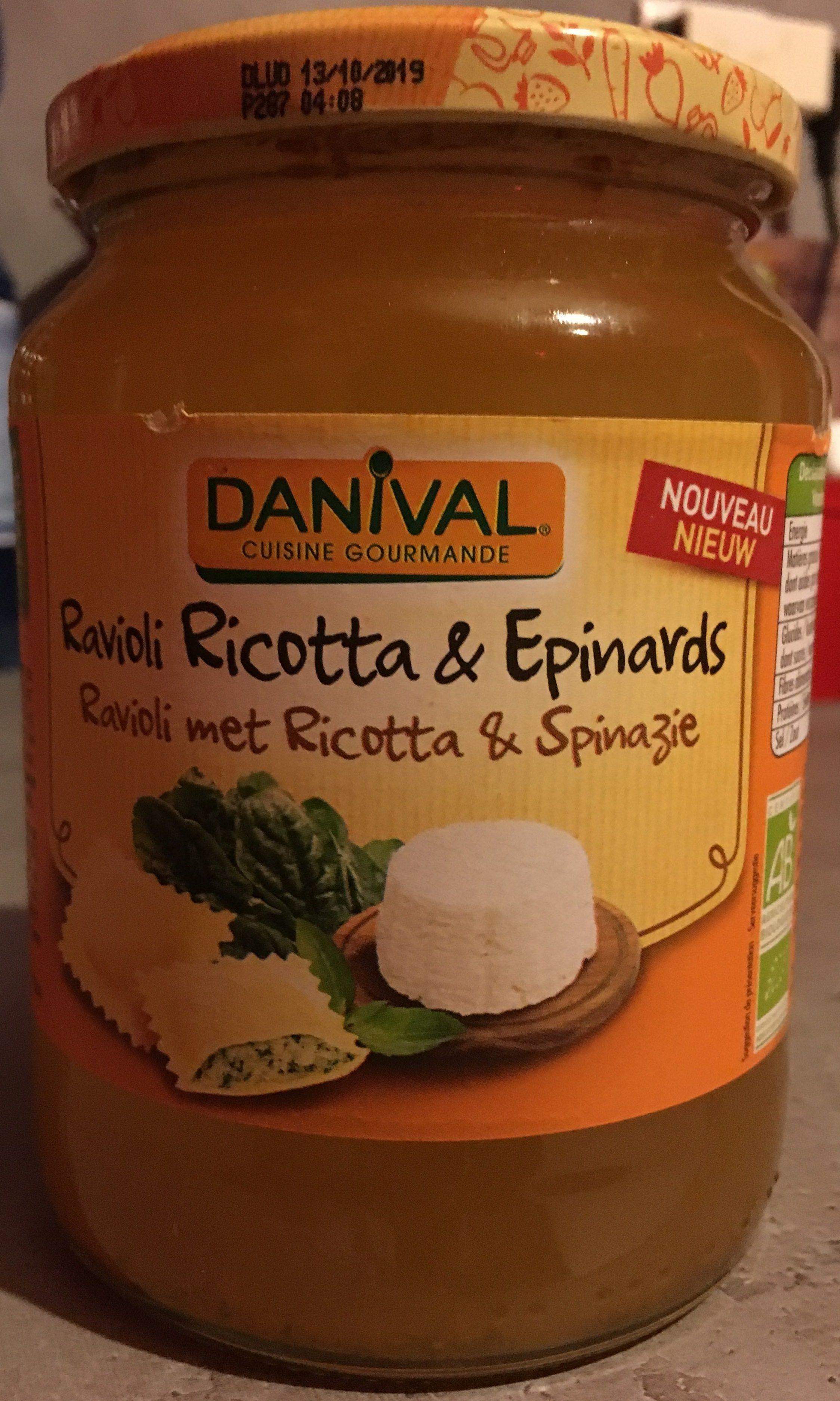 Ravioli Ricotta & Epinards - Produit - fr