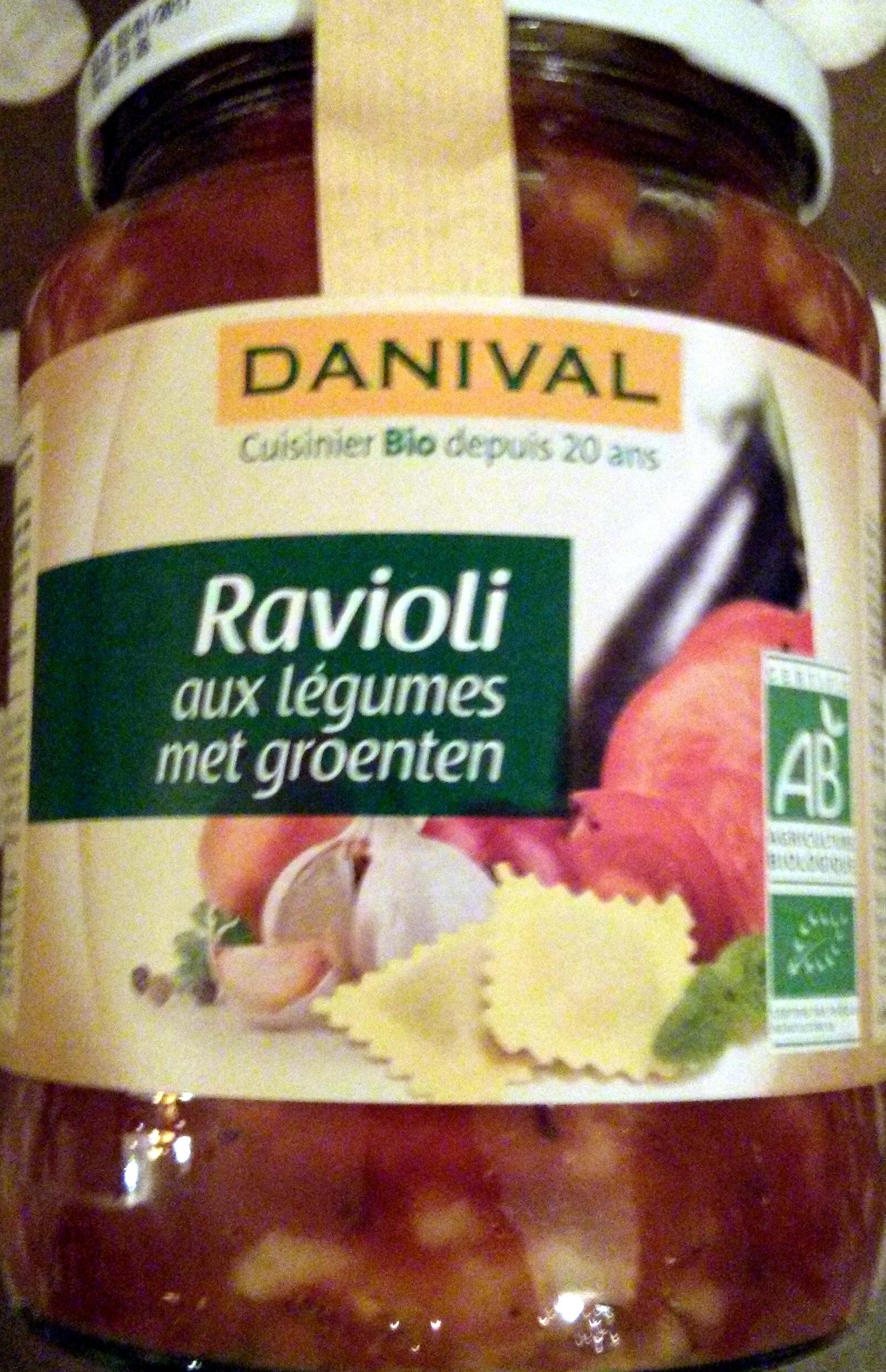 Ravioli 5 légumes - Produit - fr