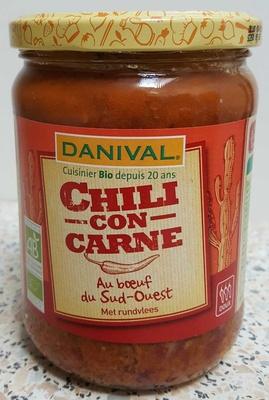 Chili Con Carne au Bœuf du Sud-Ouest - Produit