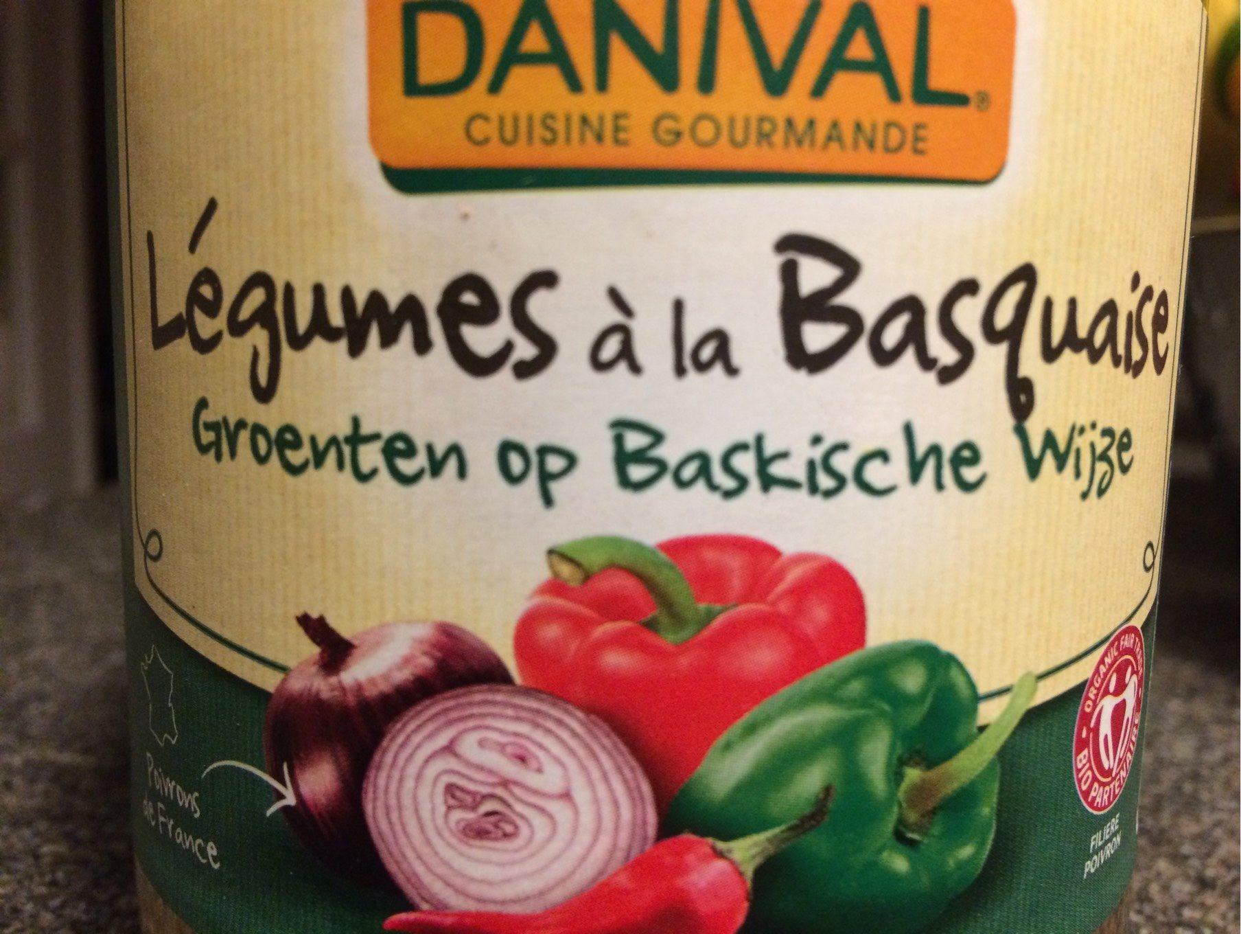Legumes à la Basquaise - Product