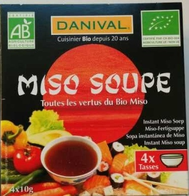 Miso soupe - Product - fr