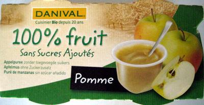 Purée de Pomme 100% fruit - Produit - fr