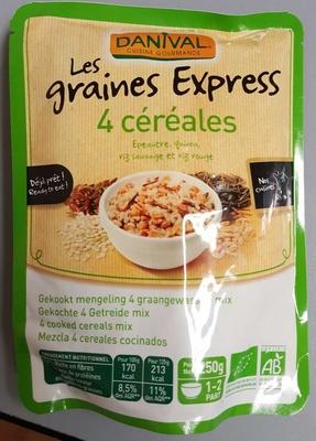 Les graines express 4 céréales - Product