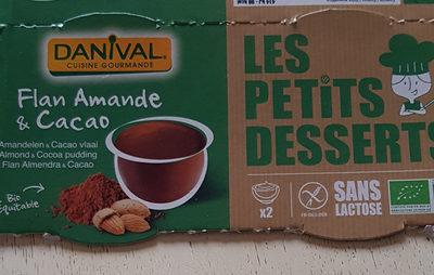 Flan Amande & Cacao Bio & Sans Gluten - Product - fr