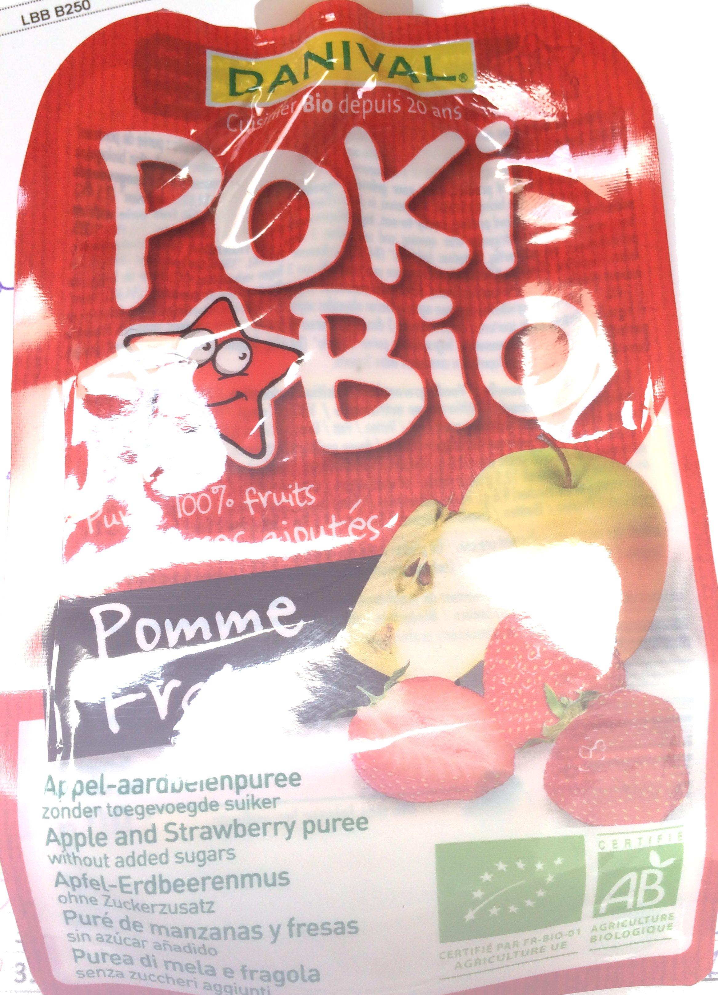 Poki Bio Pomme Fraise - Product