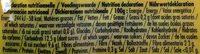 Poki Bio Pomme Fraise - Nutrition facts