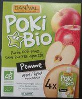 Poki Bio Pomme - Produit - fr