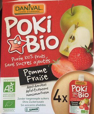 Etui 4 Pokibio Pomme Fraise - Product - fr