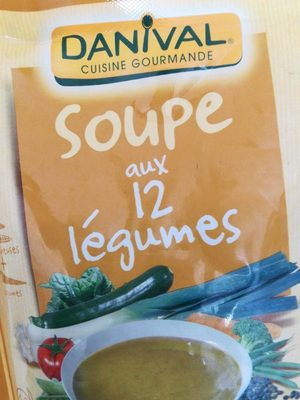 Soupe aux 12 légumes - Produit - fr