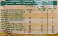 Soupe aux 12 légumes - Informations nutritionnelles - fr