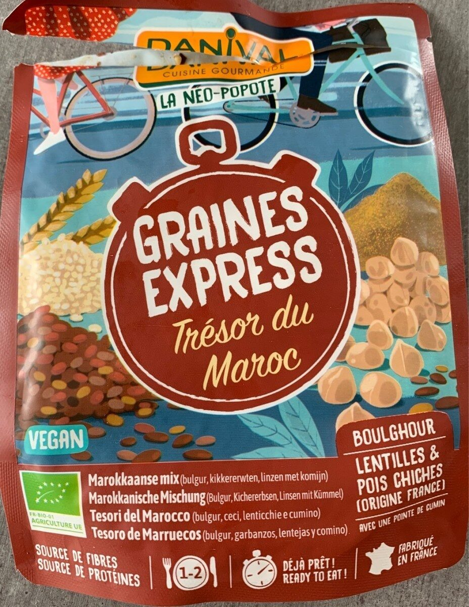 Graines express - Trésor du Maroc - Produit - fr