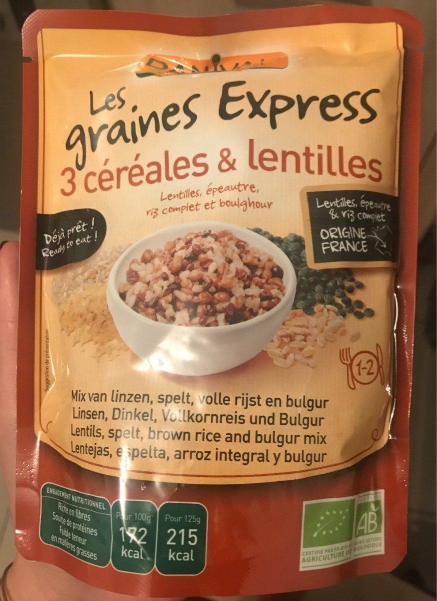 250G Graines Express Lentilles - Product - fr