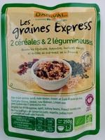 Les graines Express 2 céréales & légumineuses - Product
