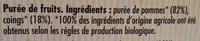 100% fruit - Ingrédients - fr