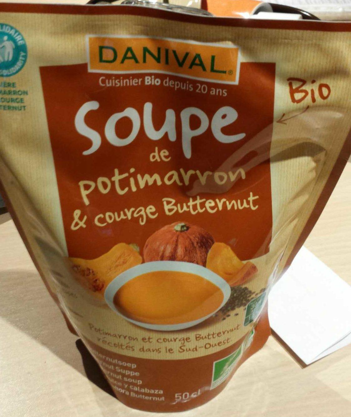 Soupe potimarron & courge butternut - Product - fr