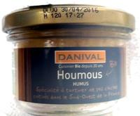 Houmous Bio - 100 g - Danival - Produit