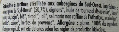 Caviar d'aubergines - Ingredients