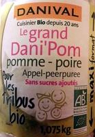Le grand Dani'Pom pomme - poire - Product - fr