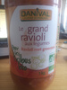 Le grand Ravioli aux Légumes - Product