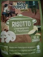 Risotto Champignons & Parmesan - Product - fr