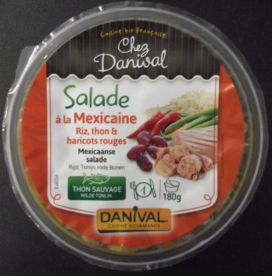 Salade à la Mexicaine - Riz, thon et haricots rouges - Produit