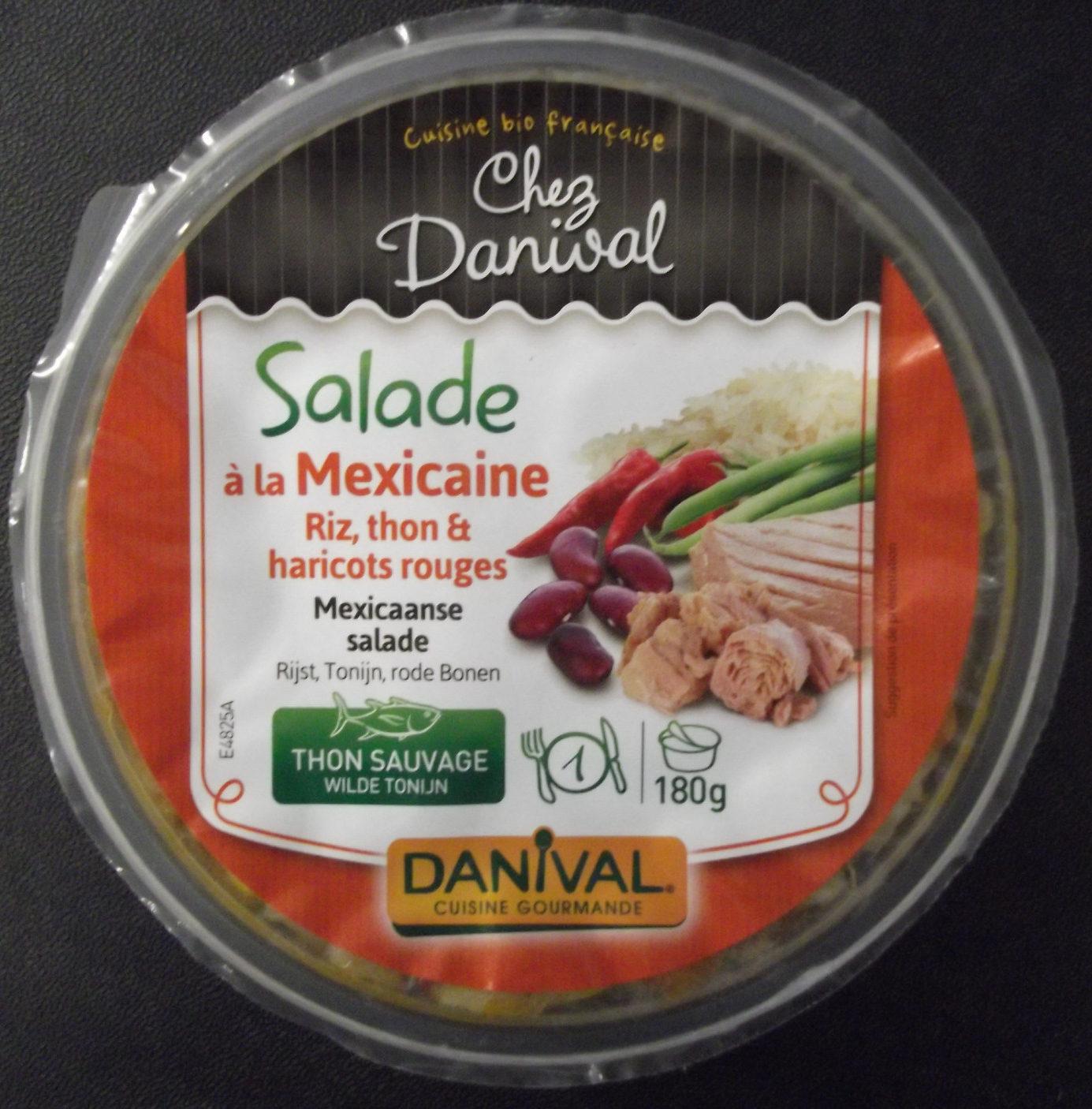 Salade Méxicaine Riz / Thon / Piment - Produit