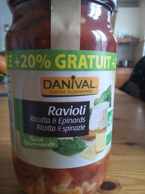 Ravioli Ricotta & Epinards - Produit