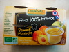 Danival Fruits 100% France Pomme Mirabelle - Product