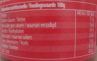 Sauce Bolognaise au Bœuf - Informations nutritionnelles - fr