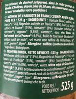 Mitonnee De 3 Haricots - Ingredients