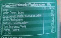 Tajine Aux 6 Légumes & Miel - Voedingswaarden - fr
