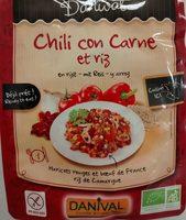 Chili con carne et riz - Produit - fr