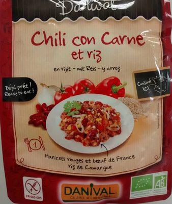 Chili con carne et riz - Produit