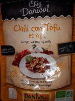 Chili Con Tofu Et Riz - Produit - fr