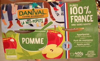 Fruits 100% Fruits Pomme - Produit - fr