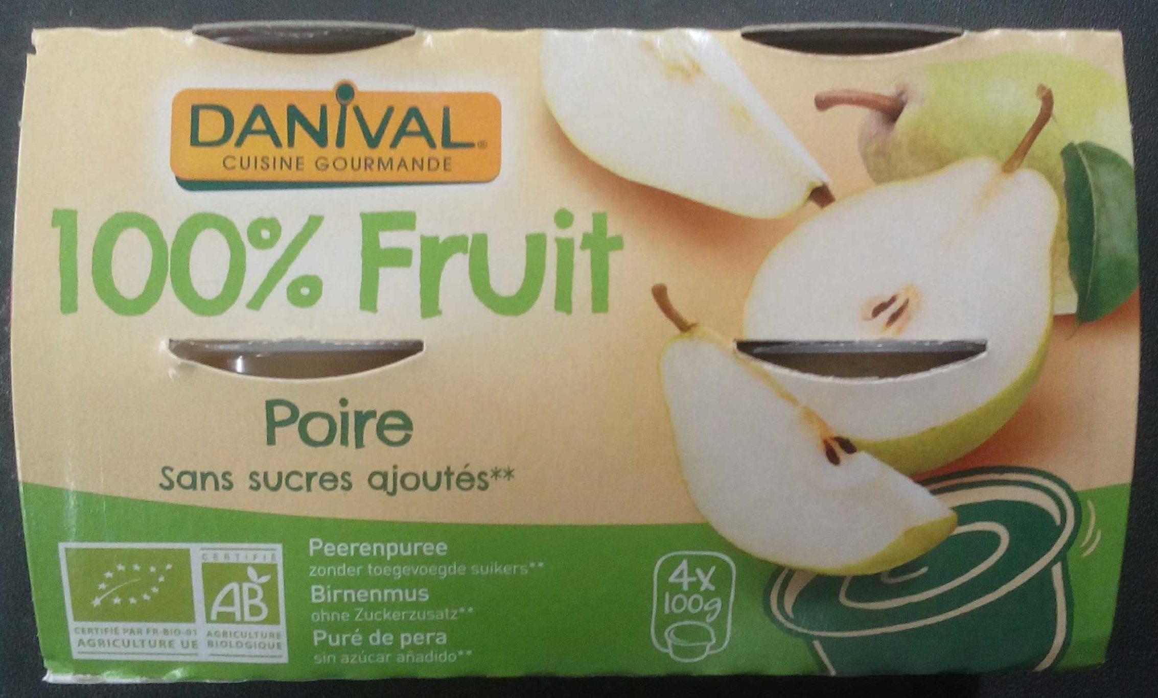 100% Fruit Poire - Produit - fr