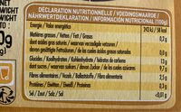 PUREE POMME COING - Informations nutritionnelles - fr