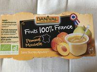 Compote Pomme Mirabelle Ss Sucre Ajouté - Product - fr