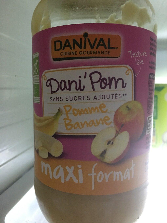 Dani Pom pomme -banane - Produit - fr