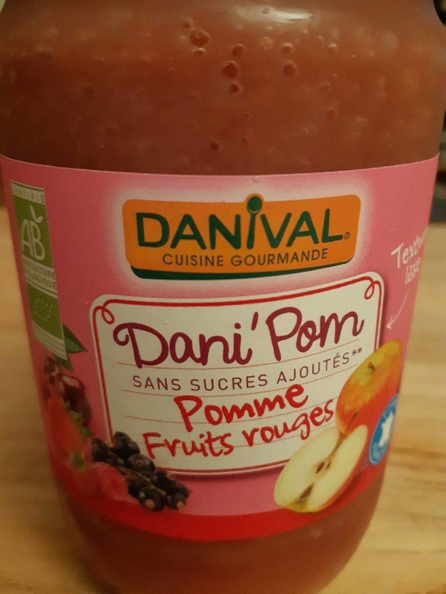 Dani'Pom Pomme - Fruits rouges - Product - fr