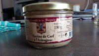 terrine de cerf à l'armagnac - Product - fr