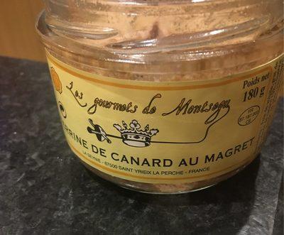 Terrine de canard au magret - Produit - fr