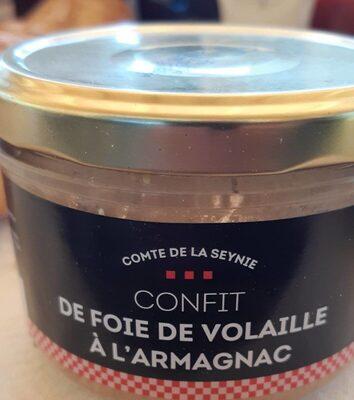 Confit De Foie De Volaille A L'armagnac - Product