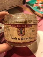 Confit de foie de porc - Product - fr