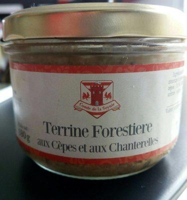 Terrine forestière aux cèpes et chanterelles - Product - fr