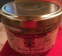 Terrine de Canard au Foie Gras - Product - fr