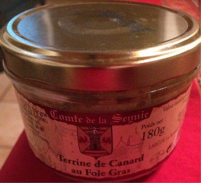Terrine de Canard au Foie Gras - Produit - fr
