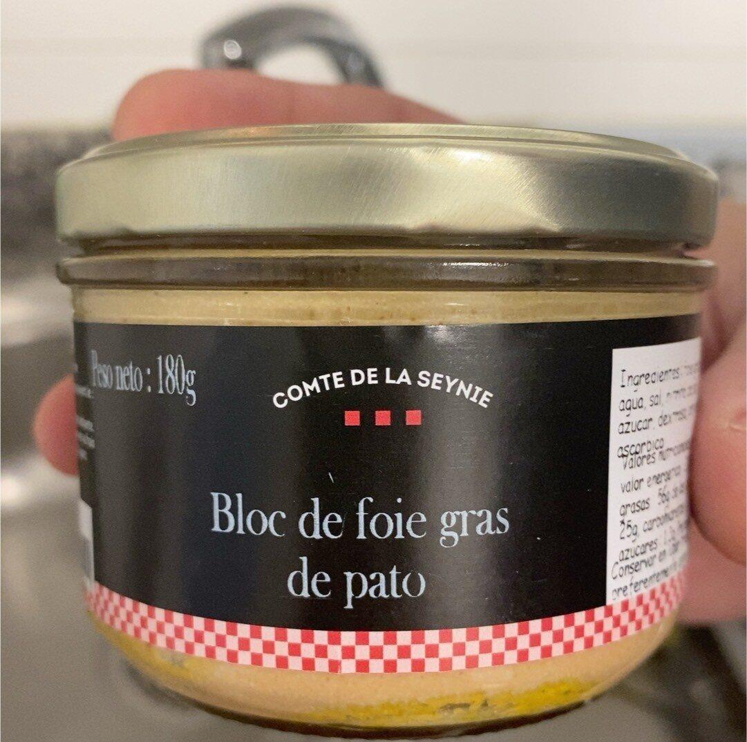 Bloc de foie gras de pato - Product - es